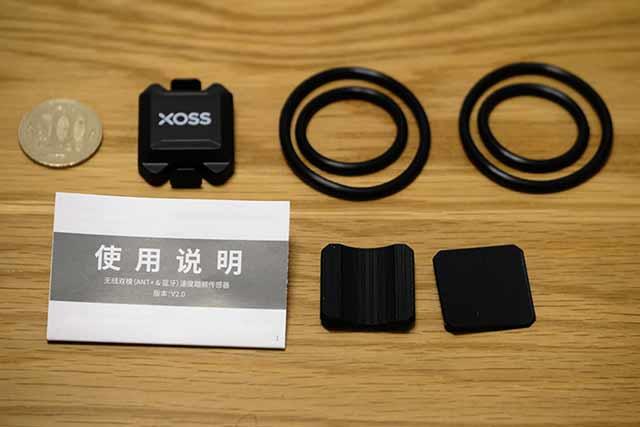 ケイデンスセンサーのXOSS