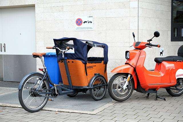 個性的な自転車