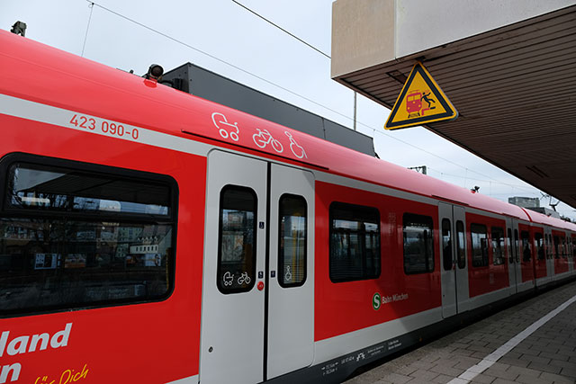 電車は自転車積み込みOK
