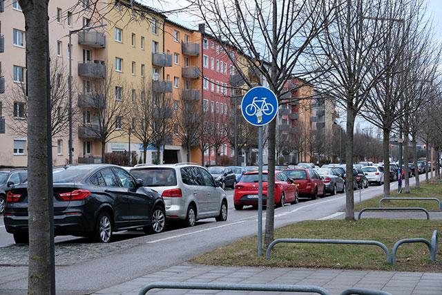 ドイツ ミュンヘンの自転車道