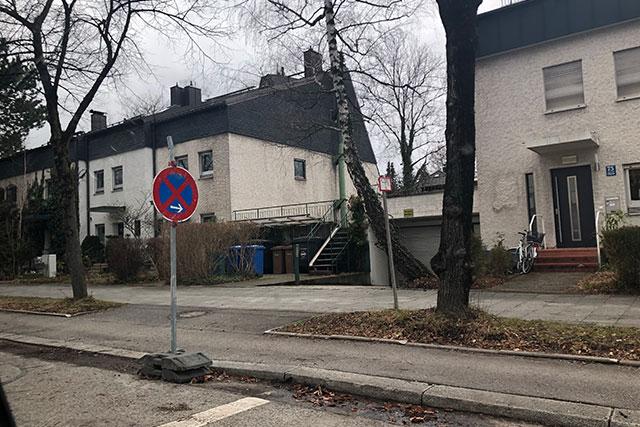 ミュンヘン郊外の自転車事情
