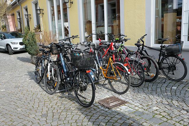 リンダウの自転車事情