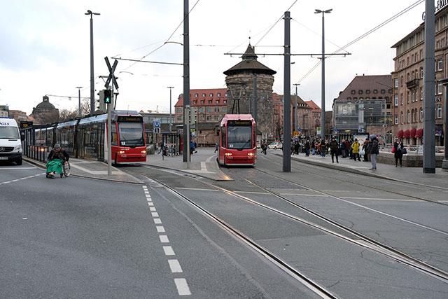 ニュルンベルクの自転車事情