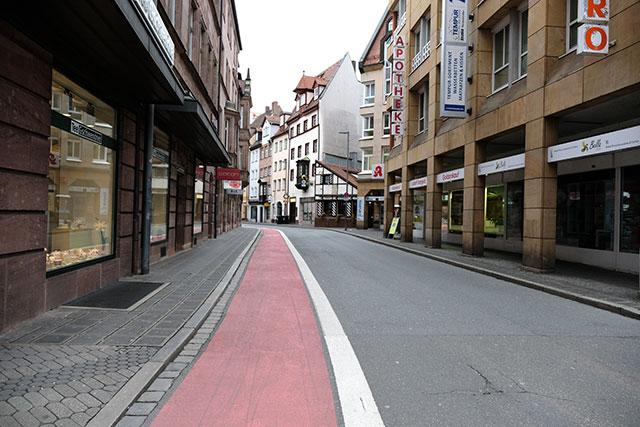 自転車道 ニュルンベルク