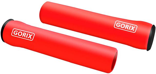 赤いハンドルグリップ