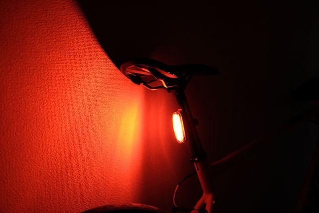 自転車のリアライト(後尾灯)はなるべく明るいライトがおすすめ