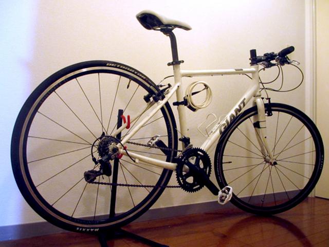 クロスバイクの改造カスタマイズの記録