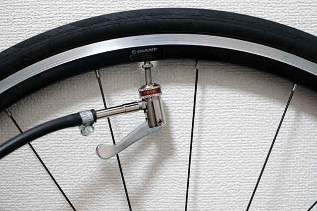 快適なサイクリングはタイヤの空気圧管理から始まる