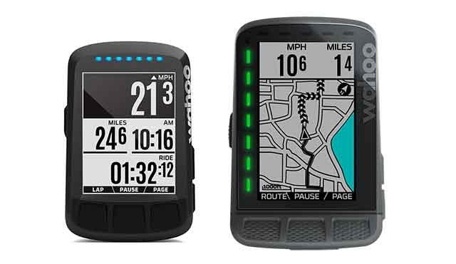 GPS対応サイクルコンピューターELEMNT ROAMとBOLT