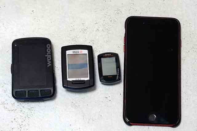 スマートフォンやスマートウォッチがあればサイクルコンピューターは不要?