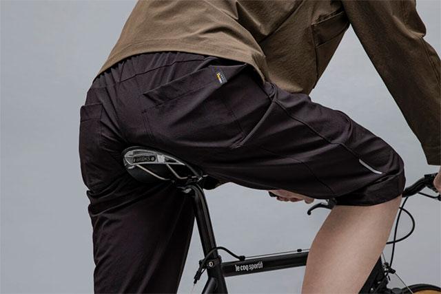 通勤通学のサイクリングパンツの悩みを解決するサイクリングパンツ