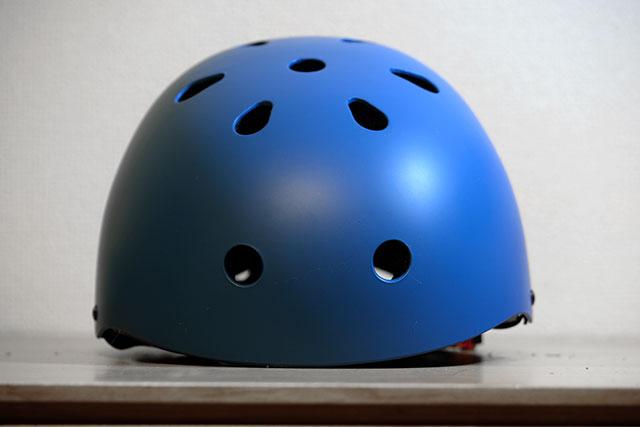 ヘルメットの穴